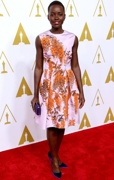 "<p><span class=""_Nj""><span>12 Years a Slave is only Lupita's second-ever film role, and it's earned her a best supporting actress nomination. And secured her status as one of 2014's most-stylish women.<br /></span></span></p> <p><a href=""http://www.cosmopolitan.co.uk/fashion/news/celebs-new-york-fashion-week-aw14"" target=""_blank"">CELEBRITY STYLE AT NEW YORK FASHION WEEK</a></p> <p><a href=""http://cosmopolitan.co.uk/fashion/celebrity/lupita-nyongo-who-is-she?click=main_sr"" target=""_blank"">10 THINGS YOU SHOULD KNOW ABOUT LUPITA NYONG'O</a></p> <p><a href=""http://cosmopolitan.co.uk/fashion/shopping/date-dresses-curvy-girls?click=main_sr"" target=""_blank"">SHOP 8 GREAT DATE DRESSES FOR CURVY GIRLS</a></p>"