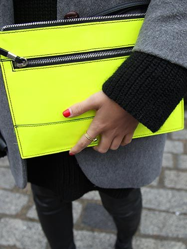 "<p class=""p1"">The perfect pairing - neon accessories with bright red nails. </p> <p><a href=""http://www.cosmopolitan.co.uk/beauty-hair/news/trends/hair-makeup-trends-autumn-winter-2014"" target=""_blank"">TOP AW14 BEAUTY TRENDS FROM LFW</a></p> <p><a href=""http://www.cosmopolitan.co.uk/beauty-hair/news/trends/cosmo-beauty-team-no-makeup-tips-beauty-lab?utm_content=buffer43d36&utm_medium=social&utm_source=twitter.com&utm_campaign=PromoPlayer"" target=""_blank"">HOW TO GO MAKEUP-FREE</a></p> <p><a href=""http://www.cosmopolitan.co.uk/beauty-hair/beauty-tips/how-to-sculpt-your-cheeks-beauty-lab"" target=""_blank"">HOW TO SCULPT YOUR CHEEKS WITH MAKEUP</a></p>"