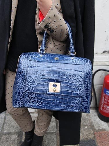 "<p>Orla Kiely goes badass with this royal blue snakeskin holdall.</p> <p><a href=""http://www.cosmopolitan.co.uk/fashion/news/new-york-fashion-week-street-style-aw14"" target=""_blank"">NEW YORK FASHION WEEK STREET STYLE</a></p> <p><a href=""http://www.cosmopolitan.co.uk/fashion/news/celebs-new-york-fashion-week-aw14"" target=""_blank"">NEW YORK FASHION WEEK FROW</a></p> <p><a href=""http://www.cosmopolitan.co.uk/fashion/news/victoria-beckham-nyfw-show-2014"" target=""_blank"">VICTORIA BECKHAM AW14 NYFW</a></p>"