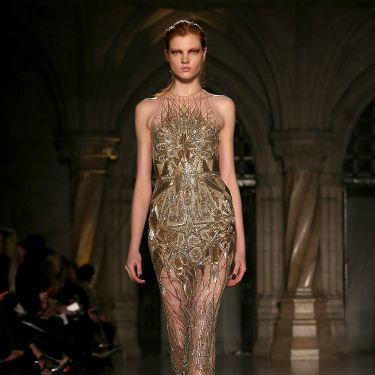 """<p>Can you say va-va-VOOM? Expect to see this gorgeous gown on a red carpet near you soon. And also in our dreams.</p><p><a href=""""http://www.cosmopolitan.co.uk/fashion/news/celebs-new-york-fashion-week-aw14"""" target=""""_blank"""">CELEBRITY FASHION WEEK OUTFITS</a></p><p><a href=""""http://www.cosmopolitan.co.uk/fashion/news/london-fashion-week-street-style-aw14"""" target=""""_blank"""">LONDON FASHION WEEK STREET STYLE</a></p><p><a href=""""http://www.cosmopolitan.co.uk/fashion/shopping/mulberry-cara-delevingne-handbag-collection"""" target=""""_blank"""">MULBERRY'S CARA DELEVINGNE COLLECTION</a></p>"""