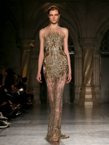 """<p>Can you say va-va-VOOM? Expect to see this gorgeous gown on a red carpet near you soon. And also in our dreams.</p> <p><a href=""""http://www.cosmopolitan.co.uk/fashion/news/celebs-new-york-fashion-week-aw14"""" target=""""_blank"""">CELEBRITY FASHION WEEK OUTFITS</a></p> <p><a href=""""http://www.cosmopolitan.co.uk/fashion/news/london-fashion-week-street-style-aw14"""" target=""""_blank"""">LONDON FASHION WEEK STREET STYLE</a></p> <p><a href=""""http://www.cosmopolitan.co.uk/fashion/shopping/mulberry-cara-delevingne-handbag-collection"""" target=""""_blank"""">MULBERRY'S CARA DELEVINGNE COLLECTION</a></p>"""