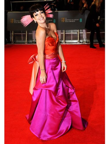 <p>Looking at Lily Allen on red carpets is perhaps our most favourite thing - even more so than 'sitting down and having a cheese-based snack', which is quite the claim.</p>