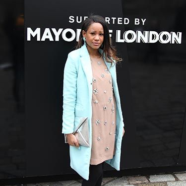 """<p>We love the collision of pastel blues and metallic silvers here.</p><p><a href=""""http://www.cosmopolitan.co.uk/fashion/news/new-york-fashion-week-street-style-aw14"""" target=""""_blank"""">NEW YORK FASHION WEEK STREET STYLE</a></p><p><a href=""""http://www.cosmopolitan.co.uk/fashion/news/celebs-new-york-fashion-week-aw14"""" target=""""_blank"""">NEW YORK FASHION WEEK FROW</a></p><p><a href=""""http://www.cosmopolitan.co.uk/fashion/news/victoria-beckham-nyfw-show-2014"""" target=""""_blank"""">VICTORIA BECKHAM AW14 NYFW</a><br /><br /></p>"""