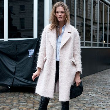 """<p>Model Irina Kulikova was off-duty but still looked like she belonged on the catwalk, pairing a Ralph Lauren Cos coat, blue button-down shirt and Helmut Lang leather trousers this weekend - the pastel blue coat may be going strong at fashion week, but Irina still pulls of the coveted pink coat with flair.</p><p><a href=""""http://www.cosmopolitan.co.uk/fashion/news/celebs-new-york-fashion-week-aw14"""" target=""""_blank"""">CELEBRITIES AT FASHION WEEK</a></p><p><a href=""""http://www.cosmopolitan.co.uk/fashion/news/new-york-fashion-week-street-style-aw14"""" target=""""_blank"""">NEW YORK FASHION WEEK STREET STYLE</a></p><p><a href=""""http://www.cosmopolitan.co.uk/fashion/news/celebs-new-york-fashion-week-aw14"""" target=""""_blank"""">NEW YORK FASHION WEEK FROW</a></p>"""