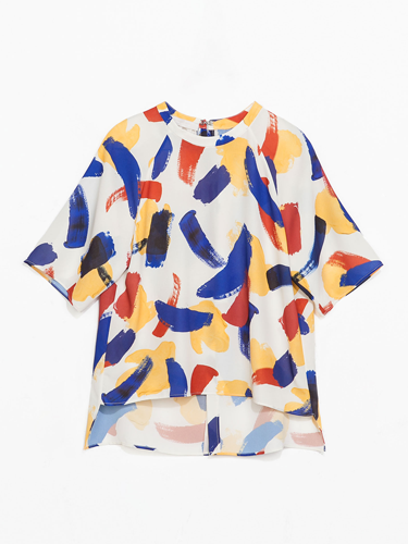 """<p>If your top isn't covered in paint splatters this season, IT DOESN'T EXIST. As seen at the likes of Celine, fashion gets a fine art spin for spring.</p> <p>Brush-strokes print blouse, £25.99, <a href=""""http://www.zara.com/uk/en/new-this-week/woman/blouse-with-small-brush-strokes-print-c363008p1738008.html"""" target=""""_blank"""">zara.com</a></p> <p><a href=""""http://www.cosmopolitan.co.uk/fashion/shopping/spring-fashion-trends-2014?page=1"""" target=""""_blank"""">7 BIG FASHION TRENDS FOR SPRING 2014</a></p> <p><a href=""""http://www.cosmopolitan.co.uk/fashion/shopping/sexy-bras-big-breasts"""" target=""""_blank"""">5 SEXY BRAS FOR BIG BOOBS</a></p> <p><a href=""""http://www.cosmopolitan.co.uk/fashion/news/Topshop-Unique-autumn-winter-2014-London-Fashion-Week"""" target=""""_blank"""">TOPSHOP UNIQUE'S BEST BITS FOR AW14</a></p>"""