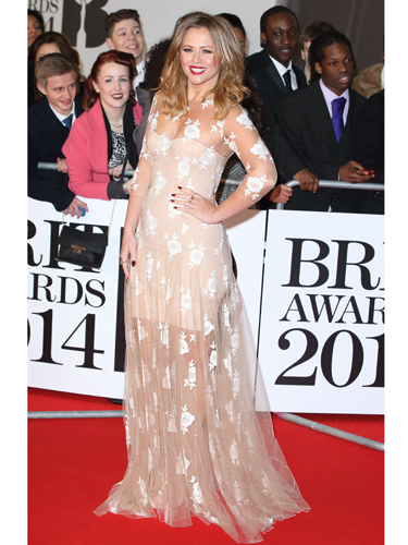 """<p>Kimberley looking bloody lovely (as ever) in a sheer floral dress. One of our fave looks of the evening. How does she do it? We'd look like we got into a fight with our nan's net curtains...</p> <p><a href=""""http://www.cosmopolitan.co.uk/fashion/news/baftas-red-carpet-2014?click=main_sr"""" target=""""_blank"""">SEE CELEBS LOOKING FINE AT THE BAFTAS 2014</a></p> <p><a href=""""http://www.cosmopolitan.co.uk/fashion/news/celebs-new-york-fashion-week-aw14"""" target=""""_blank"""">CELEBRITY FRONT ROW FASHION AT LFW</a></p> <p><a href=""""http://www.cosmopolitan.co.uk/fashion/news/cosmopolitan.co.uk/fashion/news/golden-globes-red-carpet-dresses?click=main_sr"""" target=""""_blank"""">RED CARPET AT THE GOLDEN GLOBES 2014</a></p>"""