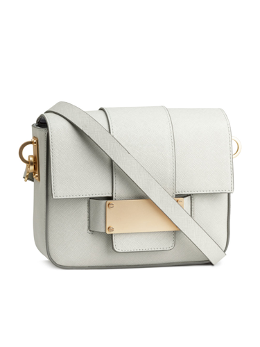 "<p>Looking for a neutral bag that goes with everything? This little light grey number will tick all your boxes.  It would look great with jeans, work-suits and even party-wear. Sleek and smart and less than £20!"" - Sairey Stemp, Fashion Editor</p> <p>Shoulder bag, £19.99, <a href=""http://www.hm.com/gb/product/23136?article=23136-B"" target=""_blank"">hm.com</a></p> <p><a href=""http://www.cosmopolitan.co.uk/archive/fashion/shopping/new-in-store/0/8"" target=""_blank"">SHOP NEW IN STORE NOW</a></p> <p><a href=""http://www.cosmopolitan.co.uk/fashion/shopping/spring-fashion-trends-2014?page=1"" target=""_blank"">7 BIG FASHION TRENDS FOR SPRING 2014</a></p> <p><a href=""http://www.cosmopolitan.co.uk/fashion/shopping/mulberry-cara-delevingne-handbag-collection"" target=""_blank"">SEE CARA DELEVINGNE'S MULBERRY BAG COLLECTION</a></p>"