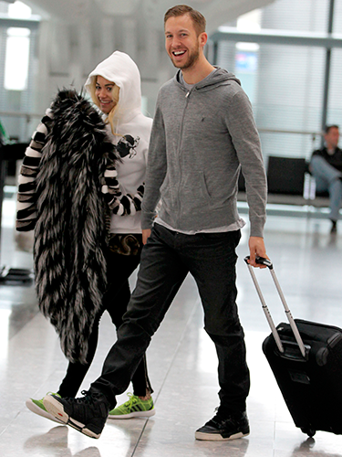 "<p>Why on earth would you book a flight the morning after the BRITs? Hectic schleb schedule, we suppose. No wonder lovebirds Calvin and Rita decided to wear their comfiest clothes at Heathrow.</p> <p><a href=""http://www.cosmopolitan.co.uk/celebs/entertainment/kids-reenact-oscar-best-film-nominations"" target=""_blank"">WATCH KIDS REENACT OSCAR-NOMINATED FILMS</a></p> <p><a href=""http://www.cosmopolitan.co.uk/celebs/celebrity-gossip/justin-timberlake-performing-new-york-pictures"" target=""_blank"">FIVE HOT PICS OF JUSTIN TIMBERLAKE IN CONCERT</a></p> <p><a href=""http://www.cosmopolitan.co.uk/celebs/entertainment/joseph-gordon-levitt-rise-pictures"" target=""_blank"">JOSEPH GORDON-LEVITT'S CAREER IN PICTURES</a></p>"