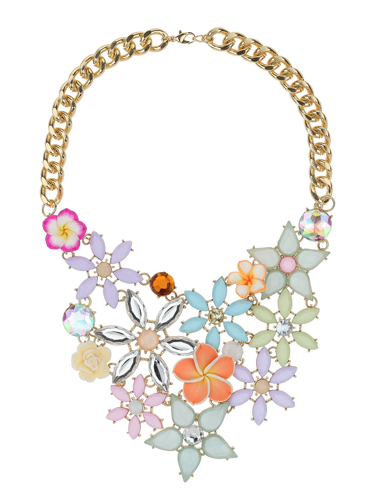 "<p>Add some power to your look with flowers.</p> <p>Flower necklace, £16.50, <a href=""http://www.missselfridge.com/en/msuk/product/new-in-299046/view-all-299058/mixed-flower-collar-2649392?bi=1&ps=200"" target=""_blank"">missselfridge.com</a></p> <p><a href=""http://www.cosmopolitan.co.uk/fashion/shopping/spring-fashion-trends-2014?page=1"" target=""_blank"">7 BIG FASHION TRENDS FOR SPRING 2014</a></p> <p><a href=""http://www.cosmopolitan.co.uk/fashion/shopping/handbags-spring-fashion-high-street"" target=""_blank"">12 HOT HANDBAGS FOR £75 OR LESS</a></p> <p><a href=""http://www.cosmopolitan.co.uk/fashion/shopping/sexy-bras-big-breasts"" target=""_blank"">SHOP: 5 SEXY BRAS FOR BIG BOOBS</a></p>"