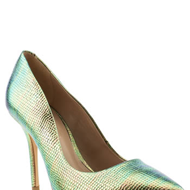 """<p>""""These shiny shoesies are sooo pretty - and on point (literally) for spring's metallics trend, too!"""" - Natalie Wall, Online Fashion Editor</p><p>Metallic mock snakeskin courts, £65, <a href=""""http://www.schuh.co.uk/womens-multi-schuh-carnival/1144109920/"""" target=""""_blank"""">schuh.co.uk</a></p><p><a href=""""http://www.cosmopolitan.co.uk/fashion/shopping/handbags-spring-fashion-high-street"""" target=""""_blank"""">NEW SEASON ARM CANDY: 12 HOT HANDBAGS</a></p><p><a href=""""http://www.cosmopolitan.co.uk/fashion/shopping/spring-fashion-trends-2014?page=1"""" target=""""_blank"""">7 BIG FASHION TRENDS FOR SPRING 2014</a></p><p><a href=""""http://www.cosmopolitan.co.uk/archive/fashion/shopping/new-in-store/0/8"""" target=""""_blank"""">SHOP NEW IN STORE NOW</a></p>"""