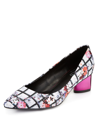 """<p>""""I can't believe this fancy footwear is M&S! From the graphic floral print, to the metallic block heel, these cute courts will look just dreamy with ripped 'n' rolled jeans and a bright knit. LOVE."""" - Natalie Wall, Online Fashion Editor</p> <p>Metal heel courts, £29.50, <a href=""""http://www.marksandspencer.com/metal-heel-court-shoes-with-insolia/p/p22278091?colour=PinkMix"""" target=""""_blank"""">marksandspencer.com</a></p> <p><a href=""""http://www.cosmopolitan.co.uk/fashion/shopping/handbags-spring-fashion-high-street"""" target=""""_blank"""">NEW SEASON ARM CANDY: 12 HOT HANDBAGS</a></p> <p><a href=""""http://www.cosmopolitan.co.uk/fashion/shopping/spring-fashion-trends-2014?page=1"""" target=""""_blank"""">7 BIG FASHION TRENDS FOR SPRING 2014</a></p> <p><a href=""""http://www.cosmopolitan.co.uk/archive/fashion/shopping/new-in-store/0/8"""" target=""""_blank"""">SHOP NEW IN STORE NOW</a></p>"""