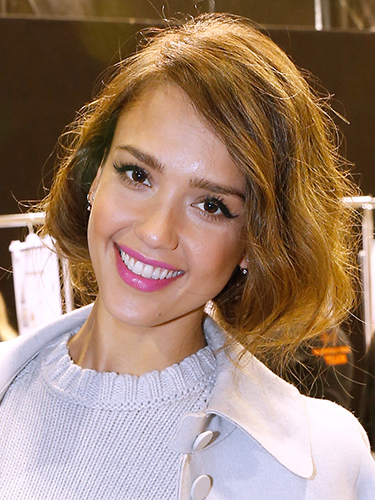 "<p>Hairstylist Carlos Ferraz gave Jessica a stunning faux bob for her moment on the Nina Ricci FRow in Paris. ""Tres chic"", ""j'adore"", ""bon bob!"" etc.</p> <p><a href=""http://www.cosmopolitan.co.uk/beauty-hair/news/trends/hair-makeup-trends-autumn-winter-2014"" target=""_blank"">HOT BEAUTY TRENDS STRAIGHT FROM LFW</a></p> <p><a href=""http://www.cosmopolitan.co.uk/beauty-hair/news/styles/celebrity/cosmo-hairstyle-of-the-day"" target=""_blank"">CHECK OUT COSMO'S HAIRSTYLE OF THE DAY</a></p> <p><a href=""http://www.cosmopolitan.co.uk/beauty-hair/news/styles/hair-trends-spring-summer-2014"" target=""_blank"">HUGE HAIR TRENDS FOR SPRING 2014</a></p>"