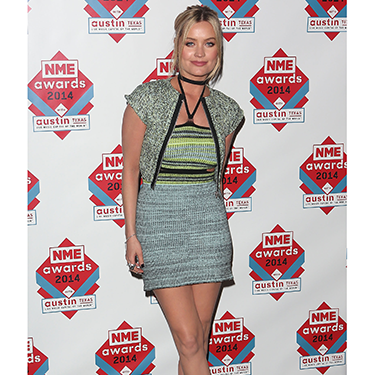 """<p>We love Laura Whitmore's little knitted number - unmistakeably a Mark Fast design. She teamed her blue and green minidress with a cute cropped jacket and ankle boots.</p><p><a href=""""http://www.cosmopolitan.co.uk/beauty-hair/news/trends/celebrity-beauty/celebrity-beauty-hairstyles-nme-awards-2014"""" target=""""_blank"""">BEST CELEBRITY BEAUTY AT THE NME AWARDS</a></p><p><a href=""""http://www.cosmopolitan.co.uk/fashion/celebrity/best-oscars-red-carpet-dresses-ever"""" target=""""_blank"""">12 BEST OSCAR DRESSES OF ALL TIME</a></p><p><a href=""""http://www.cosmopolitan.co.uk/fashion/news/london-fashion-week-street-style-aw14"""" target=""""_blank"""">STREET STYLE FROM LONDON FASHION WEEK</a></p>"""