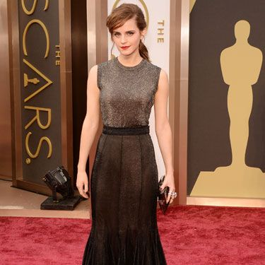 <p>Emma could essentially wear a Tesco bag and make it look stylish, but this ombre number is a frickin' DREAM.<strong><br /></strong></p>