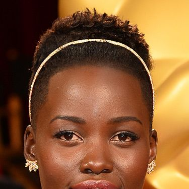 <p>There was a lot of pressure, but Lupita didn't disappoint on the hair front. She accessorised her crop with a slick Alice band and got some flattering height going at her crown. Get her hair stylist an Oscar.</p>