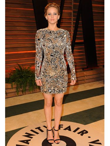"<p>JLaw decided to avoid troublesome long hemlines and switched to a metallic minidress by Tom Ford, to no doubt bust some moves on the dance floor.<strong><br /></strong></p> <p><strong>MORE OSCARS STUFF YOU NEED IN YOUR LIFE:</strong></p> <p><a href=""http://www.cosmopolitan.co.uk/fashion/news/oscars-2014-red-carpet-dresses"" target=""_blank"">OSCARS 2014: RED CARPET ARRIVALS<strong></strong></a></p> <p><a href=""http://www.cosmopolitan.co.uk/fashion/news/oscars-2014-best-dressed"" target=""_blank"">THE 5 BEST DRESSES AT THE OSCARS 2014</a></p> <p><a href=""http://www.cosmopolitan.co.uk/celebs/entertainment/oscars-2014-winners"" target=""_blank"">OSCARS 2014: THE FULL LIST OF WINNERS</a></p> <p><a href=""http://www.cosmopolitan.co.uk/fashion/news/every-best-actress-dress-infographic"" target=""_blank"">EVERY BEST ACTRESS WINNER'S OSCARS DRESS SINCE 1929</a></p> <p> </p> <div style=""overflow: hidden; color: #000000; background-color: #ffffff; text-align: left; text-decoration: none;""> </div>"