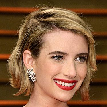 """<p>Emma's new bob looked incredible, jujjed-up with texture and a deep side-parting. Her classic red lippy, matching her posh frock, brought some classic glamour to her guise.</p><p><strong>MORE OSCARS BEAUTY YOU NEED IN YOUR LIFE:</strong></p><p><a href=""""http://www.cosmopolitan.co.uk/beauty-hair/news/trends/celebrity-beauty/oscars-2014-best-celebrity-beauty"""" target=""""_self"""">10 AMAZING OSCARS 2014 HAIRSTYLES</a></p><p><a href=""""http://www.cosmopolitan.co.uk/beauty-hair/news/beauty-news/margot-robbie-brown-brunette-hair"""" target=""""_self"""">MARGOT ROBBIE GOES BRUNETTE FOR THE OSCARS</a></p><p><a href=""""http://www.cosmopolitan.co.uk/beauty-hair/news/styles/celebrity/lupita-nyong-o-oscars-2014-hairstyles"""" target=""""_self"""">A CLOSE-UP LOOK AT LUPITA NYONG'O'S OSCARS HAIR</a></p>"""