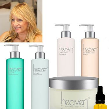 """<p>Deborah's spiritual approach to skincare takes her beyond 'skincare expert' status. Qualified also to 'heal' and advise on more psychological-based issues - visiting Deborah is a bit like having an all-encompassing MOT.</p><p>Deborah's skincare line, Heaven, is made up of natural and organic products including the best-selling anti-ageing <strong>Bee Venom Mask, £25.30</strong>, which contains manuka honey, bee venom (no bees were harmed!), and soothing ingredients such as shea butter and rose and lavender essential oils.</p><p>Heaven, indeed.</p><p><a href=""""http://www.heavenskincare.com/Index.aspx"""">Heaven by Deborah Mitchell, from £7.30</a></p><p> </p><p><a href=""""http://www.cosmopolitan.co.uk/beauty-hair/beauty-tips/the-best-celebrity-facials-london-beauty-lab?click=main_sr"""">THE TOP 5 CELEBRITY FACIALS</a></p><p><a href=""""http://www.cosmopolitan.co.uk/beauty-hair/beauty-lab"""">VISIT THE COSMO BEAUTY LAB</a></p><p><a href=""""http://www.cosmopolitan.co.uk/beauty-hair/beauty-tips/cassie-powney-how-to-wear-bright-makeup"""">5 WAYS TO WEAR BRIGHT MAKEUP</a></p>"""