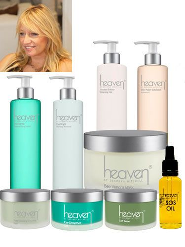 "<p>Deborah's spiritual approach to skincare takes her beyond 'skincare expert' status. Qualified also to 'heal' and advise on more psychological-based issues - visiting Deborah is a bit like having an all-encompassing MOT.</p> <p>Deborah's skincare line, Heaven, is made up of natural and organic products including the best-selling anti-ageing <strong>Bee Venom Mask, £25.30</strong>, which contains manuka honey, bee venom (no bees were harmed!), and soothing ingredients such as shea butter and rose and lavender essential oils.</p> <p>Heaven, indeed.</p> <p><a href=""http://www.heavenskincare.com/Index.aspx"">Heaven by Deborah Mitchell, from £7.30</a></p> <p> </p> <p><a href=""http://www.cosmopolitan.co.uk/beauty-hair/beauty-tips/the-best-celebrity-facials-london-beauty-lab?click=main_sr"">THE TOP 5 CELEBRITY FACIALS</a></p> <p><a href=""http://www.cosmopolitan.co.uk/beauty-hair/beauty-lab"">VISIT THE COSMO BEAUTY LAB</a></p> <p><a href=""http://www.cosmopolitan.co.uk/beauty-hair/beauty-tips/cassie-powney-how-to-wear-bright-makeup"">5 WAYS TO WEAR BRIGHT MAKEUP</a></p>"