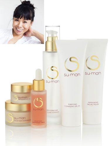 "<p>A former dancer, shiatsu and pilates practitioner; Su-Man then decided to establish herself as the go-to celebrity facialist. This accolade has a lot to do with her famous 'facelift in an hour', which has gained her celebrity fans from all over the world.</p> <p>Her new skincare range was designed to compliment this popular signature facial, and combines Eastern and Western skincare methods within a three-step system.</p> <p>Su-Man told us: ""After four years I believe I have achieved a way to put my facial magic into a bottle and I'm thrilled that I can now share this with the world."" So are we, Su-Man, so are we.</p> <p><a href=""http://www.su-man.com/html/index.php"">Su-Man Skincare by Su-Man, from £37</a></p> <p> </p> <p><a href=""http://www.cosmopolitan.co.uk/beauty-hair/beauty-tips/the-best-celebrity-facials-london-beauty-lab?click=main_sr"">THE TOP 5 CELEBRITY FACIALS</a></p> <p><a href=""http://www.cosmopolitan.co.uk/beauty-hair/beauty-lab"">VISIT THE COSMO BEAUTY LAB</a></p> <p><a href=""http://www.cosmopolitan.co.uk/beauty-hair/beauty-tips/cassie-powney-how-to-wear-bright-makeup"">5 WAYS TO WEAR BRIGHT MAKEUP</a></p>"