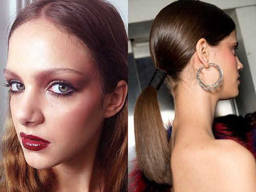 New hair, makeup and beauty trends for autumn/winter 2014