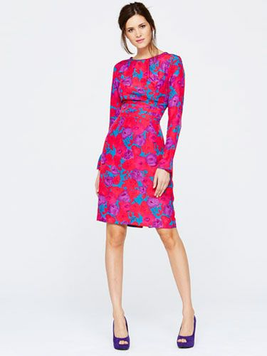 "<p>Perhaps our favourite piece from the collection, this dress needs nothing else. Structured, flattering, and one of the season's key colour trends, all you'll need with this is a pair of heels and a cocktail. Perfection.</p> <p>Buy now from <a href=""http://www.very.co.uk/"" target=""_blank"">Very.co.uk</a></p>"