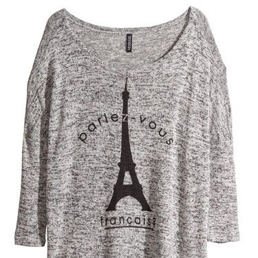 """<p>Keep just warm enough in the not-hot-yet-not-cold weather in a fine-knit. Plus, this one reminds us of Paris and who doesn't want to think about springtime in Paris?</p><p>Fine-knit Jumper, £12.9, <a href=""""http://www.hm.com/gb/product/25403?article=25403-E"""" target=""""_blank"""">hm.com </a></p><p><a href=""""http://www.cosmopolitan.co.uk/fashion/shopping/new-in-store-fashion-buys-march-2014"""" target=""""_blank"""">12 OPTIONS FOR YOUR SATURDAY NIGHT STYLE</a></p><p><a href=""""http://www.cosmopolitan.co.uk/fashion/shopping/very-spring-collection"""" target=""""_blank"""">10 HERO PIECES FOR SPRING</a></p><p><a href=""""http://www.cosmopolitan.co.uk/fashion/shopping/new-in-store/what-to-wear-this-week-03-03-14"""" target=""""_blank"""">WHAT TO BUY THIS WEEK</a></p>"""