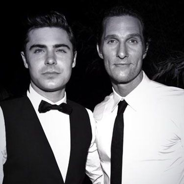 """<p>Is there anything hotter than Zac Efron in a tuxedo? How about Matthew McConaughey *and* Zac Efron in tuxedos. """"Huge congrats to @McConaughey on his well-deserved #Oscars win for #DallasBuyersClub,"""" Zac tweeted from backstage at the ceremony. Perfection. </p><p><a href=""""http://www.cosmopolitan.co.uk/celebs/celebrity-gossip/oscars-week-2014-celebrity-gossip"""" target=""""_blank"""">INSIDE THE OSCARS PARTIES</a></p><p><a href=""""http://www.cosmopolitan.co.uk/celebs/celebrity-gossip/celebrity-twitter-instagram-bafta-photos"""" target=""""_blank"""">THE BAFTAS IN CELEBRITY INSTAGRAMS</a></p><p><a href=""""http://www.cosmopolitan.co.uk/celebs/celebrity-gossip/matthew-mcconaughey-school-prom-photo"""" target=""""_blank"""">MATTHEW MCCONAUGHEY'S PROM PIC GOES VIRAL</a></p>"""