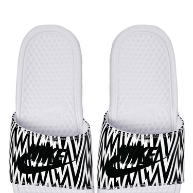 """<p>We couldn't quite get our head around the pool slides trend until we saw these bad boys. Slightly more slimline than other styles we've seen and we love the graphic print, too.</p><p>Nike Benassi printed sliders, £16, <a href=""""http://www.asos.com/Nike/Nike-Benassi-White-Printed-Sliders/Prod/pgeproduct.aspx?iid=3528189&SearchQuery=nike&Rf-700=1000&sh=0&pge=0&pgesize=36&sort=-1&clr=White"""" target=""""_blank"""">asos.com</a></p><p><a href=""""http://www.cosmopolitan.co.uk/fashion/shopping/spring-shoes-fashion-high-street"""" target=""""_blank"""">STEP INTO NEW SEASON: 10 PAIRS OF SPRING-LIKE SHOES</a></p><p><a href=""""http://www.cosmopolitan.co.uk/fashion/shopping/handbags-spring-fashion-high-street"""" target=""""_blank"""">NEW SEASON ARM CANDY: 12 HOT HANDBAGS</a></p><p><a href=""""http://www.cosmopolitan.co.uk/fashion/shopping/spring-fashion-trends-2014?page=1"""" target=""""_blank"""">7 BIG FASHION TRENDS FOR SPRING 2014</a></p>"""
