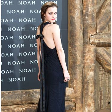 """<p>Emma Watson did gothic glam at the Berlin premiere of her new film Noah in floor-length Wes Gordon with a sexy racer back, topped-off with a bow. Her slicked-back hair and scarlet lips made for an edgy look. <span>Hermione</span> who-ie?</p><p><a href=""""http://www.cosmopolitan.co.uk/fashion/shopping/new-in-store/what-to-wear-this-week-10-03-14"""" target=""""_blank"""">VOTE ON CELEBRITY STYLE</a></p><p><a href=""""http://www.cosmopolitan.co.uk/fashion/shopping/new-in-store/what-to-wear-this-week-10-03-14"""" target=""""_blank"""">NEW IN STORE: WHAT TO BUY RIGHT NOW</a></p><p><a href=""""http://www.cosmopolitan.co.uk/fashion/shopping/spring-summer-fashion-trends-2014"""" target=""""_blank"""">7 BIG FASHION TRENDS FOR SPRING</a></p>"""