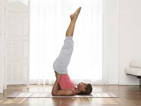 athome yoga workout