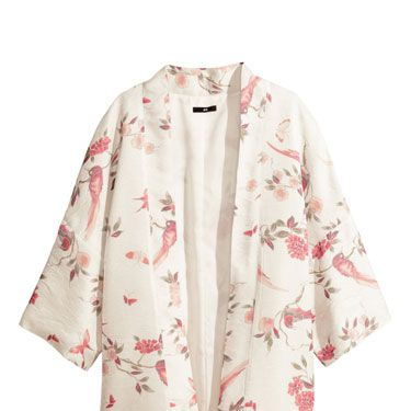 """<p>We're loving the breezy boho vibes on this printed kimono, and are pretty sure it will be one of our mainstays come festival season. Just add denim cut-offs, cowboy boots and ALL the jewellery.</p><p>Printed kimono, £29.99, <a href=""""http://www.hm.com/gb/product/28194?article=28194-A"""" target=""""_blank"""">hm.com</a></p><p><a href=""""http://www.cosmopolitan.co.uk/fashion/shopping/spring-shoes-fashion-high-street"""" target=""""_blank"""">STEP INTO NEW SEASON: 10 PAIRS OF SPRING-LIKE SHOES</a></p><p><a href=""""http://www.cosmopolitan.co.uk/fashion/shopping/handbags-spring-fashion-high-street"""" target=""""_blank"""">NEW SEASON ARM CANDY: 12 HOT HANDBAGS</a></p><p><a href=""""http://www.cosmopolitan.co.uk/fashion/shopping/spring-fashion-trends-2014?page=1"""" target=""""_blank"""">7 BIG FASHION TRENDS FOR SPRING 2014</a></p>"""