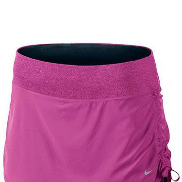 <p>Love the shorts look but less keen on your thighs? Try this skort - a shape-forgiving skirt with built-in, close-fitting running shorts. Team with a fitted T-shirt or vest to keep a simple, streamlined silhouette.</p>