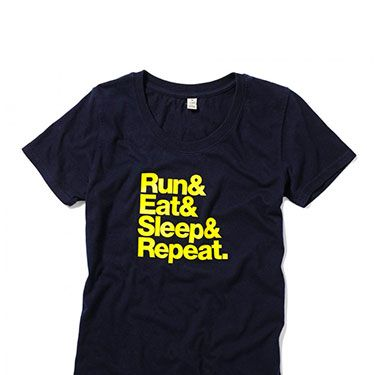 <p>Eat. Sleep. Run. Repeat. </p>