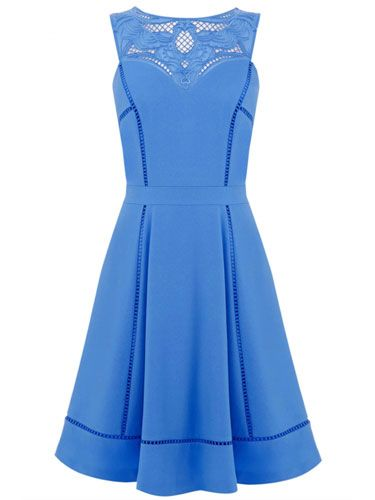 "<p>Now this is one way of doing colour blocking. And also a way of making an entrance at your next posh do. We'd wear with metallic accessories for an on point SS14 look.</p> <p>Cutwork Yoke Ladder Detail Dress, £70, <a href=""http://www.warehouse.co.uk/cutwork-yoke-ladder-detail-dress/clothing/warehouse/fcp-product/5563104730"" target=""_blank"">warehouse.co.uk</a></p> <p><a href=""http://www.cosmopolitan.co.uk/fashion/shopping/spring-shoes-fashion-high-street"" target=""_blank"">STEP INTO NEW SEASON: 10 PAIRS OF SPRING-LIKE SHOES</a></p> <p><a href=""http://www.cosmopolitan.co.uk/fashion/shopping/handbags-spring-fashion-high-street"" target=""_blank"">NEW SEASON ARM CANDY: 12 HOT HANDBAGS</a></p> <p><a href=""http://www.cosmopolitan.co.uk/fashion/shopping/spring-fashion-trends-2014?page=1"" target=""_blank"">7 BIG FASHION TRENDS FOR SPRING 2014</a></p>"