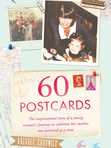 "<p><a style=""font-size: 10px;"" href=""http://www.amazon.co.uk/60-Postcards-Inspirational-Celebrate-Postcard/dp/147113430X"" target=""_blank"">60 Postcards: The Inspirational Story of a Young Woman's Journey to Celebrate Her Mother, One Postcard at a Time</a><br /><br /><em>£12.99, Simon Schuster</em><br /><br />When Rachael Chadwick was sixteen she lost her mum to cancer. Feeling exhausted with the grief that was guillotining through her life, she decided to use the last present her mother had given her, Eurostar vouchers, to visit Paris for the first time. In Paris she began distributing sixty handwritten postcards to celebrate her mum's 60th birthday, inviting the strangers that found them to reply to her.<br /><br />If you can read this book without welling up, you must have a heart of stone or a tear duct deficiency.<br /><br />I'll be keeping a copy to remind myself how lucky I am and buying another for a friend whose mum sadly isn't alive for them to celebrate mother's day together.<br /><br /> </p> <p><a href=""http://www.cosmopolitan.co.uk/fashion/shopping/tampax-mothers-day-presents-on-a-budget"" target=""_blank"">10 MEANINGFUL MOTHER'S DAY PRESENTS FROM A DAUGHTER WHO'S TOTALLY BROKE</a></p>"