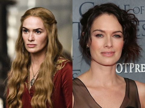 <p><strong> Plays:</strong> Cersei Baratheon</p> <p><strong>Beauty style:</strong> Cersei is not very lovely in the show (we're not going to write a list of all the horrid things she's done because we really don't have the time). She does, however, have a seriously stunning mane of hair (a wig, obvs), and skin that suggests there are some bloody good facialists in King's Landing. The actress who plays her prefers a more rock chic hair do, and doesn't mind putting on a bit of rosy blush and a smile once in a while. Lovely.</p>