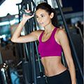 """<p>Don't waste time warming up at the gym - a brisk walk to get there is all you need. At the gym, spend two minutes loosening up your joints with a few light squats, bends and arms stretches.</p><p>Then, before you start the circuit, raise your pulse with three minutes of increasing effort on a treadmill, rower or exercise bike, until you're breaking a sweat and only just able to talk.</p><p><a href=""""http://www.cosmopolitan.co.uk/diet-fitness/fitness/at-home-workout-that-girl-charli-cohen-christina-howells"""" target=""""_blank"""">THE BUSY WOMEN WORKOUT</a></p><p><a href=""""http://www.cosmopolitan.co.uk/diet-fitness/fitness/beat-muscle-soreness-with-a-warm-up"""" target=""""_blank"""">THE RIGHT WAY TO WARM-UP</a></p><p><a href=""""http://www.cosmopolitan.co.uk/diet-fitness/fitness/why-women-should-lift-weights"""" target=""""_blank"""">WHY WOMEN SHOULD LIFT WEIGHTS</a></p>"""