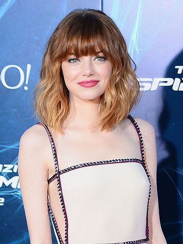 30 Shoulder Length Layered Hairstyles With Bangs