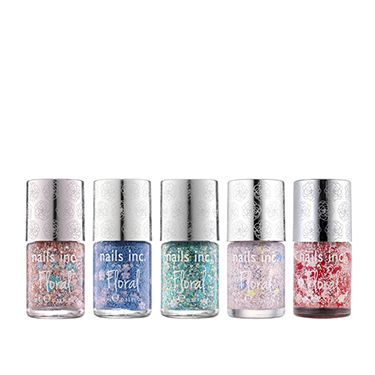"""<p>It's Easter, which means it's time to wholeheartedly embrace springtime. Kick off your boots, hang up your coat and paint your nails with this. These instant nail art polishes decorate tips in flowers and glitter&#x3B; three coats give full coverage of the prettiest daisy print. LOVE.  </p><p>Nails Inc Floral Polish, £12 each, <a href=""""http://www.nailsinc.com/article/limited-edition-floral-polish-video/267/"""" target=""""_blank"""">nailsinc.com</a></p><p><a href=""""http://www.cosmopolitan.co.uk/beauty-hair/news/trends/nail-trends-spring-summer-2014"""" target=""""_blank"""">THE BIG 2014 NAIL TRENDS</a></p><p><a href=""""http://www.cosmopolitan.co.uk/beauty-hair/news/trends/celebrity-beauty/celebrity-nail-art-manicures"""" target=""""_blank"""">CELEBRITY NAIL ART TRENDS</a></p><p><a href=""""http://www.cosmopolitan.co.uk/beauty-hair/news/styles/celebrity/cosmo-hairstyle-of-the-day"""" target=""""_blank"""">COSMO'S HAIRSTYLE OF THE DAY</a></p>"""