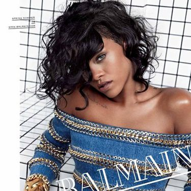 "<p><a href=""http://www.cosmopolitan.co.uk/fashion/news/rihanna-new-face-of-balmain?click=main_sr"" target=""_blank"">Rihanna</a> nails it in Balmain's spring/summer 2014 campaign. Ri's look was pulled together by her go-to stylist, Mel Ottenberg.</p>