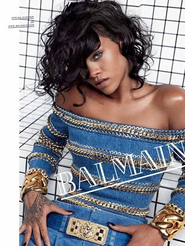 """<p><a href=""""http://www.cosmopolitan.co.uk/fashion/news/rihanna-new-face-of-balmain?click=main_sr"""" target=""""_blank"""">Rihanna</a> nails it in Balmain's spring/summer 2014 campaign. Ri's look was pulled together by her go-to stylist, Mel Ottenberg.</p> <p><a href=""""http://www.cosmopolitan.co.uk/fashion/shopping/spring-summer-fashion-trends-2014"""" target=""""_blank"""">7 BIG FASHION TRENDS FOR SPRING</a></p> <p><a href=""""http://www.cosmopolitan.co.uk/fashion/shopping/best-bags-summer-fashion-2014"""" target=""""_blank"""">10 BEST SPRING/SUMMER 2014 BAGS</a></p> <p><a href=""""http://www.cosmopolitan.co.uk/fashion/shopping/how-to-style-the-midi-skirt-trend-top-tips?click=main_sr"""" target=""""_blank"""">HOW TO STYLE THE SS14 MIDI SKIRT</a></p> <p> </p>"""