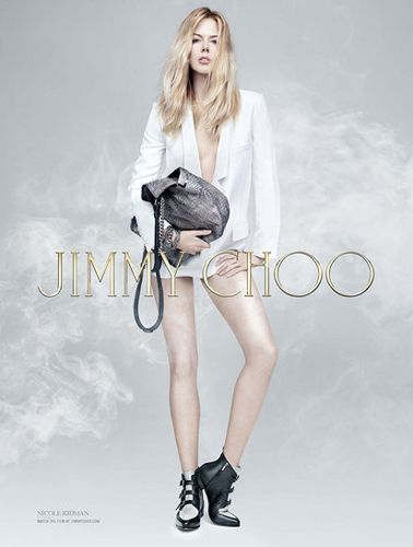 "<p>A <a href=""http://www.cosmopolitan.co.uk/fashion/news/nicole-kidman-jimmy-choo-advert-2014?click=main_sr"" target=""_blank"">curiously young-looking Nicole Kidman</a> smoulders for Jimmy Choo's Pre-Fall 2014 campaign.</p>