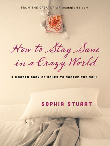 """<p><strong>by Sophia Stuart</strong></p> <p><strong>£10.99, Hay House</strong></p> <p>Sophia Stuart, the author of <a href=""""http://www.amazon.co.uk/How-Stay-Sane-Crazy-World/dp/1401944108/ref=sr_1_1?s=books&ie=UTF8&qid=1397043135&sr=1-1&keywords=How+to+Stay+Sane+in+a+Crazy+World"""" target=""""_blank"""">How to Stay Sane in a Crazy World</a> has quite a lot in common with the heroine in <a href=""""http://www.amazon.co.uk/Hundred-Pieces-Me-Lucy-Dillon/dp/1444727079"""" target=""""_blank"""">100 Pieces of Me</a>, begining with a love of capturing moments of mindfulness on camera. A modern book of hours, this collection of images and inspiring ideas is aimed at helping us all to find beauty and recuperation when life seems impossibly hectic.</p> <p>Digital mastermind Sophia Stuart reached her own crisis point when doctors operated on a tumour in her throat and she had to take a month off work. A born writer, Sophia had already created a fictional character, Gloria, a trainee angel with a determinedly positive outlook on life whose identity she blogged under about inspiring events and places.</p> <p>Being restricted to bed rest, the<a href=""""http://teamgloria.com/"""" target=""""_blank""""> Team Gloria</a> blog became a form of escape, a celebratory place where Sophia documented her journey into good health and a happier state of mind and inspired thousands of readers to improve their quality of life.</p> <p>Knowing that the burn-out she was suffering from was part of an increasing epidemic in the western workplace, Sophia created this collection of beautiful snapshots and helpful tips to guide readers in how to live a life surrounded by beauty and inspiration and, in a quiet, achievable way, to make the most of each day.</p> <p>We'll be keeping our copy by our bedside for some uplifting daily inspiration.</p> <p> </p>"""