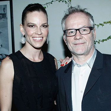 """<p><span>Hilary Swank and the snappily-titled General Delegate of the Cannes Film Festival Thierry Fremaux did some posing at the Chopard cocktail party. Tres swish.</span></p><p><a href=""""http://www.cosmopolitan.co.uk/celebs/celebrity-gossip/jessie-j-bisexuality-phase-twitter"""" target=""""_blank"""">JESSIE J HITS BACK OVER CALLING BISEXUALITY A """"PHASE""""</a></p><p><a href=""""http://www.cosmopolitan.co.uk/celebs/celebrity-gossip/cara-delevingne-taylor-swift-new-york"""" target=""""_blank"""">TAYLOR SWIFT AND CARA DELEVINGNE HANG OUT IN NEW YORK</a></p><p><a href=""""http://www.cosmopolitan.co.uk/celebs/celebrity-gossip/rihanna-drake-awkward-hug-basketball"""" target=""""_blank"""">RIHANNA AND DRAKE SHARE AN AWKWARD HUG AT THE BASKETBALL</a></p>"""