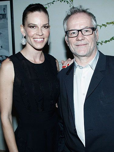 "<p><span>Hilary Swank and the snappily-titled General Delegate of the Cannes Film Festival Thierry Fremaux did some posing at the Chopard cocktail party. Tres swish.</span></p> <p><a href=""http://www.cosmopolitan.co.uk/celebs/celebrity-gossip/jessie-j-bisexuality-phase-twitter"" target=""_blank"">JESSIE J HITS BACK OVER CALLING BISEXUALITY A ""PHASE""</a></p> <p><a href=""http://www.cosmopolitan.co.uk/celebs/celebrity-gossip/cara-delevingne-taylor-swift-new-york"" target=""_blank"">TAYLOR SWIFT AND CARA DELEVINGNE HANG OUT IN NEW YORK</a></p> <p><a href=""http://www.cosmopolitan.co.uk/celebs/celebrity-gossip/rihanna-drake-awkward-hug-basketball"" target=""_blank"">RIHANNA AND DRAKE SHARE AN AWKWARD HUG AT THE BASKETBALL</a></p>"
