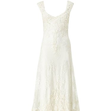 """<p>For instant romance and timeless elegance, just add lace. This soft, unstructured gown features a long train that can be folded up with a wrist loop when it's time to dance.</p><p>Peony wedding dress, £750, <a href=""""http://www.phase-eight.co.uk/fcp/product/phase-eight//Peony-Wedding-Dress/202417107"""" target=""""_blank"""">Phase-Eight.co.uk</a></p><p><a href=""""http://www.cosmopolitan.co.uk/fashion/news/hm-launch-first-wedding-dress"""" target=""""_blank"""">H&M's £60 WEDDING DRESS</a></p><p><a href=""""http://www.cosmopolitan.co.uk/fashion/shopping/short-bridesmaids-dresses-wear-again-uk"""" target=""""_blank"""">10 WEAR-AGAIN BRIDESMAID DRESSES</a></p><p><a href=""""http://www.cosmopolitan.co.uk/fashion/shopping/wedding-dress-trends-2014?page=1"""" target=""""_blank"""">DREAMY BRIDAL FASHION WEEK GOWNS</a></p><p><a href=""""http://www.cosmopolitan.co.uk/blogs/cosmo-blog-awards-2013/rock-n-roll-bride-best-alternative-wedding-ideas-photos-tattoos-blog-awards?page=1"""" target=""""_blank"""">ROCK'N'ROLL BRIDE'S WEDDING PICKS</a></p>"""
