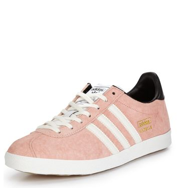"""<p>Be a 1990s shoegaze kid in a pair of lo-fi adidas plimsoles. Team with a dark floral maxi dress for a grungey vibe, or with your favourite jeans and a worn-in band tee.</p><p>Adidas Originals Gazelle trainers, £65, <a href=""""http://www.very.co.uk/adidas-originals-gazelle-og-trainers/1334690405.prd"""" target=""""_blank"""">Very.co.uk</a></p><p><a href=""""http://www.cosmopolitan.co.uk/fashion/shopping/how-to-style-the-midi-skirt-trend-top-tips"""" target=""""_blank"""">10 WAYS TO STYLE THE MIDI SKIRT</a></p><p><a href=""""http://www.cosmopolitan.co.uk/fashion/shopping/Kate-Moss-Topshop-collection-spring-summer-2014-best-pieces"""" target=""""_blank"""">KATE MOSS FOR TOPSHOP: THE EDIT</a></p><p><a href=""""http://www.cosmopolitan.co.uk/fashion/shopping/how-to-wear-boyfriend-jeans"""" target=""""_blank"""">BOYFRIEND JEANS: THE NEED-TO-KNOW</a></p>"""