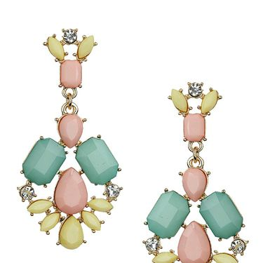 """<p>These chandelier-style earrings give you all the colours of the [pastel] rainbow in one hit. Wear with an up-do to show them off.</p><p>Pastel stone drop earrings, £12.50, <a href=""""http://www.topshop.com/webapp/wcs/stores/servlet/ProductDisplay?searchTerm=pastel&storeId=12556&productId=14248086&urlRequestType=Base&categoryId=&langId=-1&productIdentifier=product&catalogId=33057"""" target=""""_blank"""">Topshop.com</a></p><p><a href=""""http://www.cosmopolitan.co.uk/fashion/shopping/how-to-style-the-midi-skirt-trend-top-tips"""" target=""""_blank"""">10 WAYS TO STYLE THE MIDI SKIRT</a></p><p><a href=""""http://www.cosmopolitan.co.uk/fashion/shopping/Kate-Moss-Topshop-collection-spring-summer-2014-best-pieces"""" target=""""_blank"""">KATE MOSS FOR TOPSHOP: THE EDIT</a></p><p><a href=""""http://www.cosmopolitan.co.uk/fashion/shopping/how-to-wear-boyfriend-jeans"""" target=""""_blank"""">BOYFRIEND JEANS: THE NEED-TO-KNOW</a></p>"""