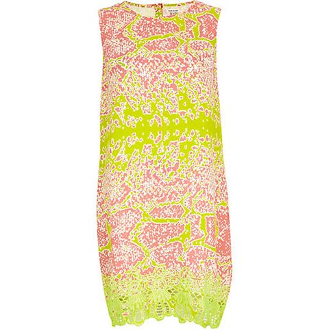 "<p>Snake print gets a fluorescent lime refresh. This grab-and-go dress will take you from day to night in a flash: just add heels and jewellery for sundown.</p> <p>Snake print dress, £30, <a href=""http://www.riverisland.com/women/dresses/shift-dresses/Lime-abstract-snake-print-shift-dress-648561"" target=""_blank"">RiverIsland.com</a></p> <p><a href=""http://www.cosmopolitan.co.uk/fashion/shopping/how-to-style-the-midi-skirt-trend-top-tips"" target=""_blank"">10 WAYS TO STYLE THE MIDI SKIRT</a></p> <p><a href=""http://www.cosmopolitan.co.uk/fashion/shopping/Kate-Moss-Topshop-collection-spring-summer-2014-best-pieces"" target=""_blank"">KATE MOSS FOR TOPSHOP: THE EDIT</a></p> <p><a href=""http://www.cosmopolitan.co.uk/fashion/shopping/how-to-wear-boyfriend-jeans"" target=""_blank"">BOYFRIEND JEANS: THE NEED-TO-KNOW</a></p>"